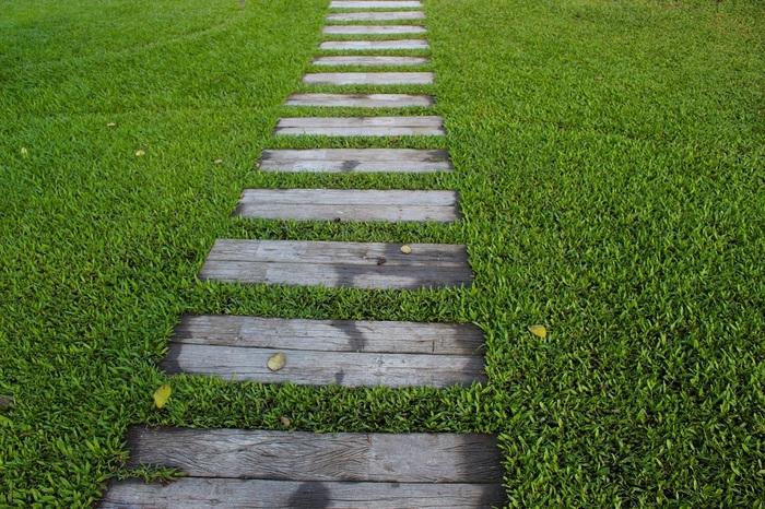 chemin de jardin