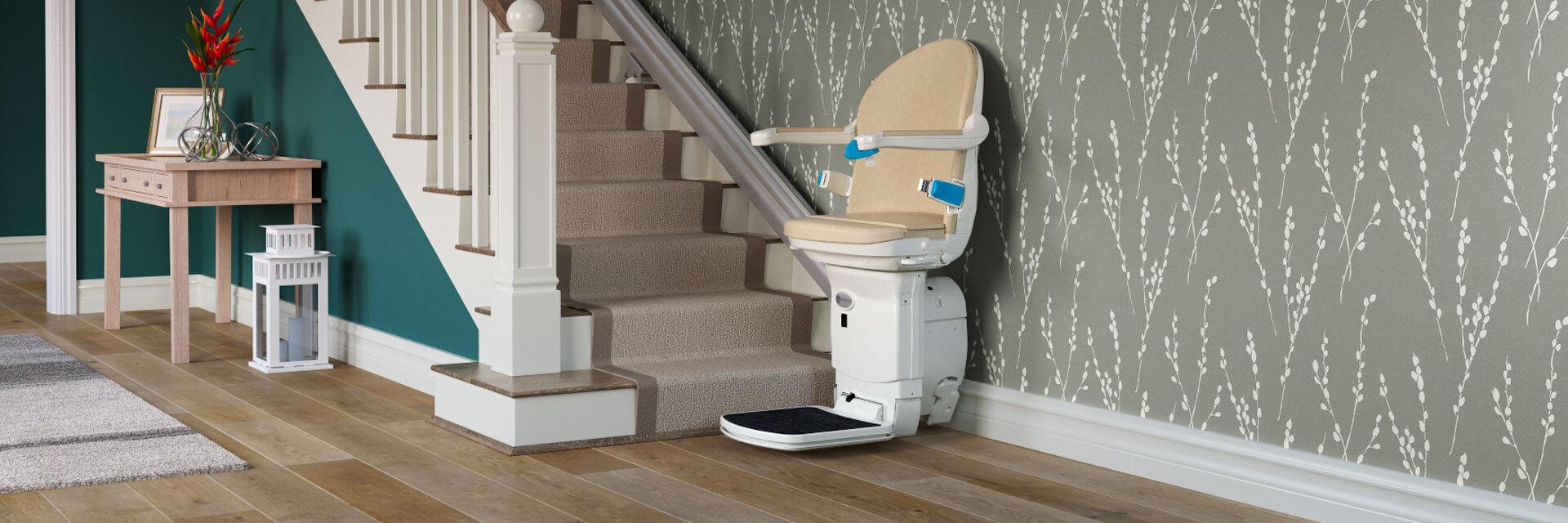 Straight Stairlift | Handicare 1000 on