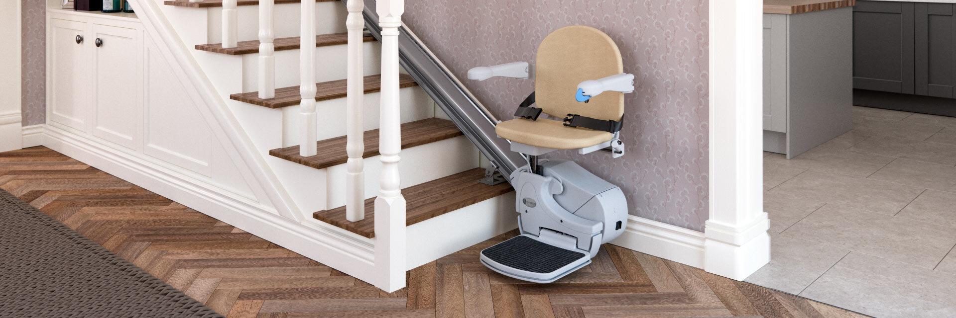 Straight Stairlift | Handicare 950 on